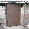Как сделать металлическую дверь