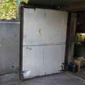 Как утеплить ворота гаража