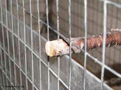 Клетка для попугая жердочки
