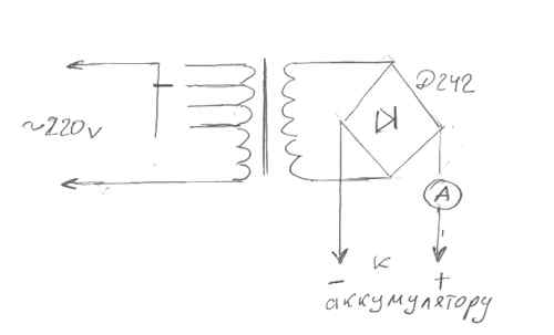 десульфатация аккумулятора - Исскуство схемотехники.