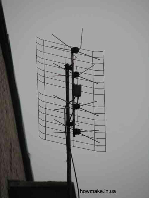 Как сделать антенну чтобы ловит цифровое