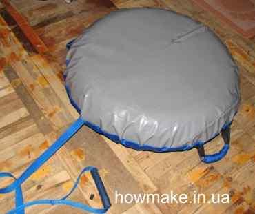 Надувные санки своими руками фото 236